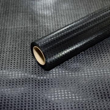 Пленка матовая с блеском 005 черный 58 см * 10 м